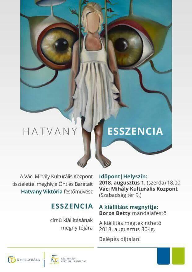 Hatvany solo exhibition in Nyíregyháza
