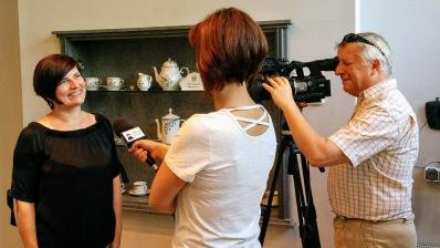 Zemplén Tv is több alkalommal is forgatott a Hatvany Művésztelepen
