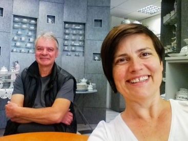 Jurcsák Lászlóval - A Hollóházi Porcelán Múzeumban 2018-ban