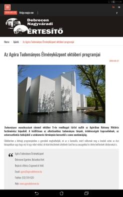 Debreceni Nagyváradi ėrtesítő
