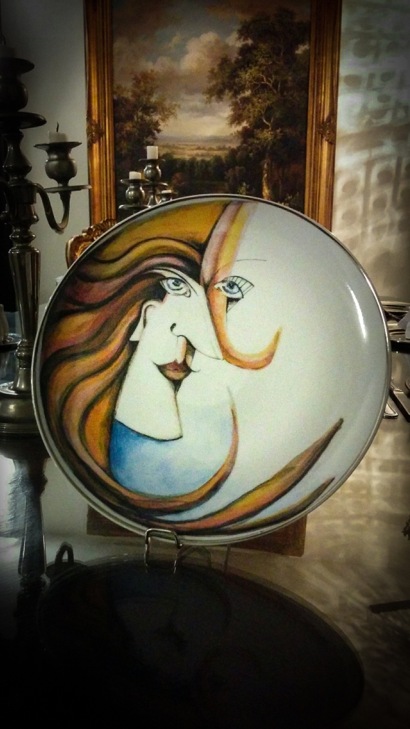 Hermina - tányér - Hatvany Hollóházi Porcelán - Hermina dekor