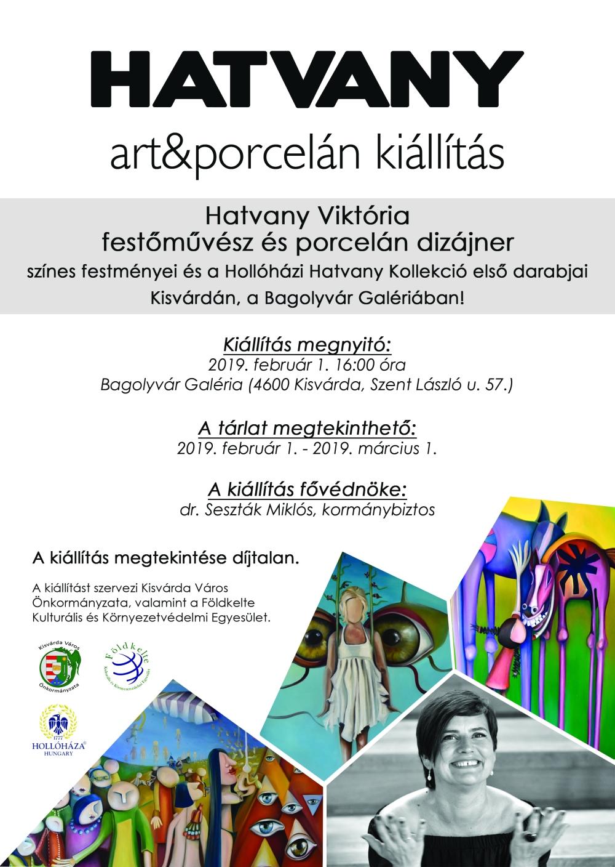 Kisvárda - Hatvany szóló kiállítás a Bagolyvár Galériában