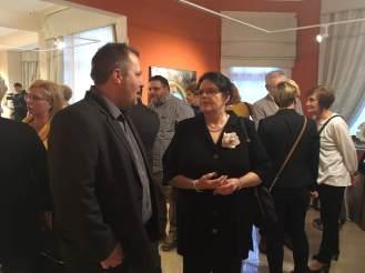 Hatvany solo exhibition - Kisvárda - Bagolyvár Gallery
